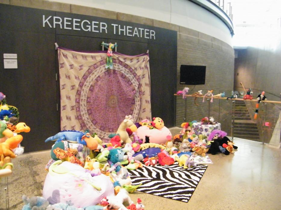 Chimera Plushy Installation, Arena Stage